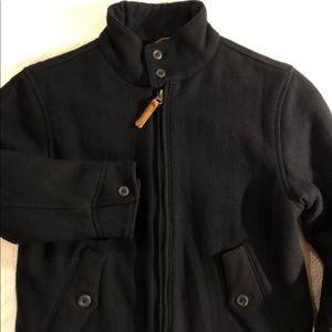 Gap wool Sherpa lined coat